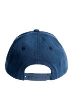Cotton cap - Dark blue -  | H&M 2