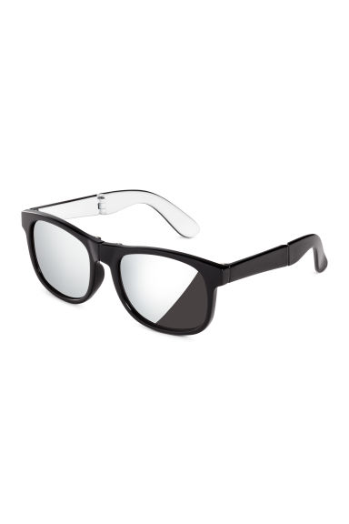 Folding sunglasses - Black - Kids | H&M 1