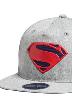 Cap with an appliqué - Grey/Superman - Kids | H&M CN 4