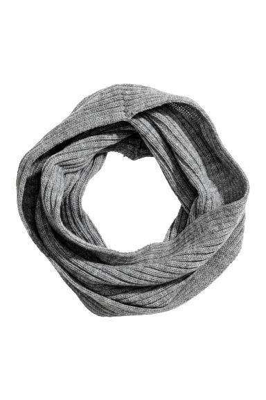 Twisted tube scarf - Grey - Kids | H&M