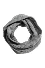 Twisted Tube Scarf - Gray -  | H&M CA 1