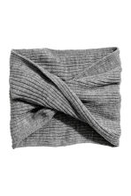 Twisted tube scarf - Grey - Kids | H&M 2