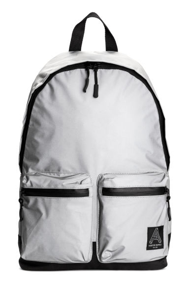 Backpack - Reflective/Black -  | H&M CN