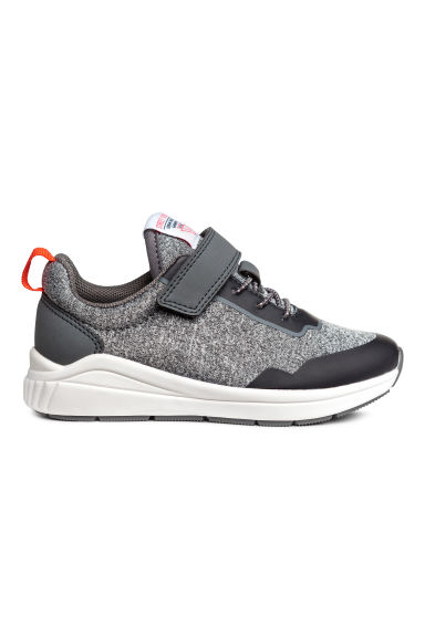 Mesh trainers - Grey marl - Kids | H&M 1
