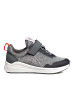 Mesh trainers - Grey marl - Kids | H&M CA 1