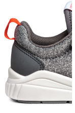 Mesh trainers - Grey marl - Kids | H&M 4