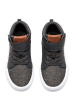 Hi-top trainers - Dark grey marl -  | H&M 2