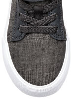 Hi-top trainers - Dark grey marl -  | H&M 4
