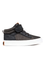 Hi-top trainers - Dark grey marl -  | H&M 1