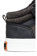 Hi-top trainers - Dark grey marl -  | H&M 5