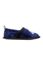 Soft slippers - Dark blue/Space - Kids | H&M 2