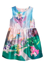 Patterned dress - Light pink/My Little Pony -  | H&M 2