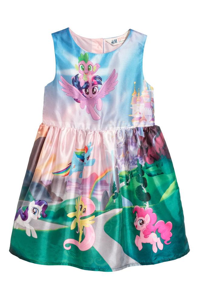 Patterned dress - Light pink/My Little Pony - | H&M GB