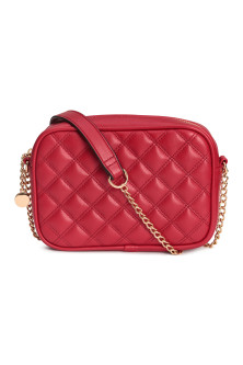 Quilted shouder bag