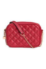 Quilted shouder bag - Red - Ladies | H&M CN 1