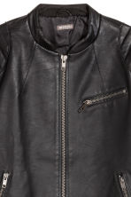 Biker jacket - Black - Men | H&M 3
