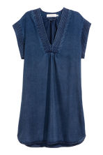 Lyocell denim dress - Dark denim blue - Ladies | H&M CN 2