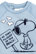 圖案運動衫 - Light blue/Snoopy - Kids | H&M 2