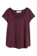 Tricot top - Paars - DAMES | H&M BE 2