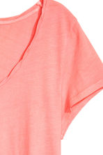 Jersey top - Neon pink - Ladies | H&M 3