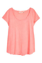 Jersey top - Neon pink - Ladies | H&M 2