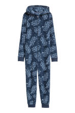 Tutina in pile - Blu scuro/Star Wars - BAMBINO | H&M IT 1