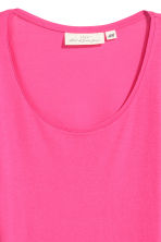 Long-sleeved jersey top - Cerise - Ladies | H&M 2