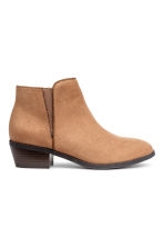 Boots with a zip - Camel - Kids | H&M 1