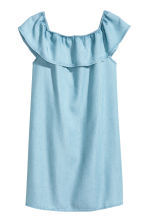 Off-the-shoulder dress - Blue - Kids | H&M 2