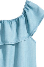 Off-the-shoulder dress - Blue - Kids | H&M 3