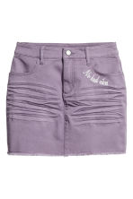 Twill skirt - Purple - Kids | H&M IE 2