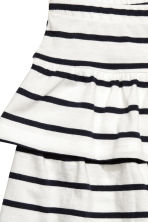 Jersey skirt - White/Black striped - Kids | H&M 3