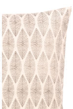 Patterned cushion cover - Natural white - Home All | H&M CA 2