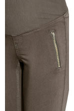 MAMA Biker trousers - Dark grey - Ladies | H&M 3