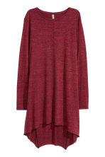 Long jersey top - Red marl - Ladies | H&M GB 2