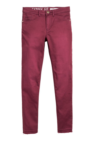 Superstretchhose - Weinrot -  | H&M CH