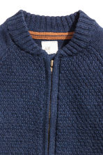 Knitted cardigan - Dark blue -  | H&M 2