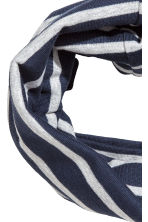 Jersey tube scarf - Dark blue - Kids | H&M 2