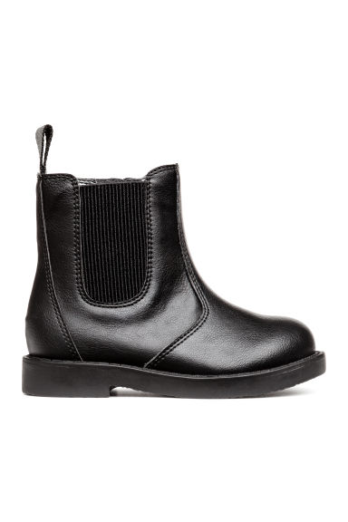 Warm-lined Chelsea boots - Black - Kids | H&M 1
