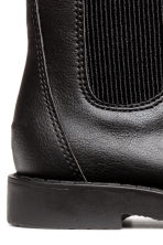 Warm-lined Chelsea boots - Black - Kids | H&M 4