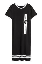 T-shirt dress - Black - Ladies | H&M CN 2