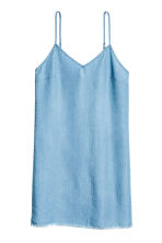 Lyocell denim dress - Light denim blue - Ladies | H&M 2