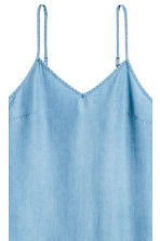 Lyocell denim dress - Light denim blue - Ladies | H&M 3
