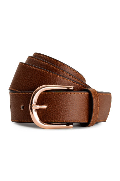 Belt - Brown - Ladies | H&M CN