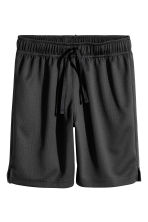 2-pack sports shorts - Black/Dark grey -  | H&M 3