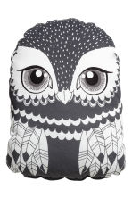 Soft toy cushion - Dark grey - Home All | H&M CN 1