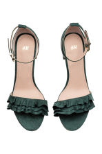 Sandals - Dark green - Ladies | H&M 3