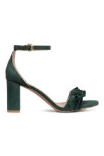 Sandals - Dark green - Ladies | H&M 2