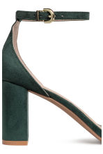 Sandals - Dark green - Ladies | H&M 5