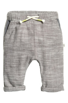 Pantaloni pull-on in cotone